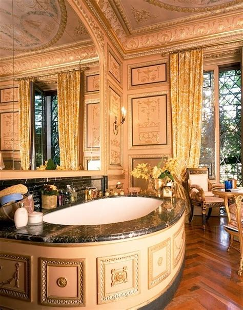 versace house spa bathroom donatella versace home master bath secret fan of the over the top