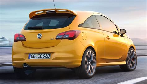 opel vauxhall 2019 opel vauxhall corsa gsi officially announced