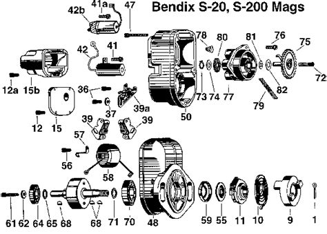 Bendix Shower Of Sparks by Bendix Magneto Wiring Diagram Bendix Magneto Manual