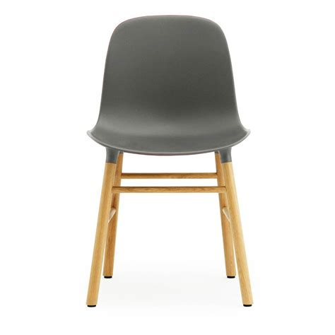 design form chairs form chair grey normann copenhagen design adult