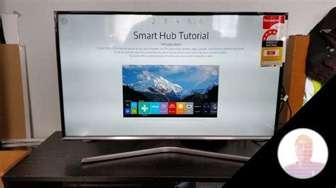 Tv 32 Smart Samsung smart hub tutorial samsung 32 quot fhd smart tv j5500 series