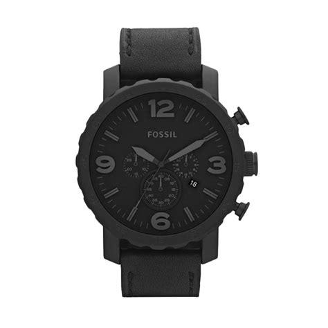 Jam Tangan Fossil Jr 1353 Nate jual fossil nate chronograph leather jr1354 jam tangan