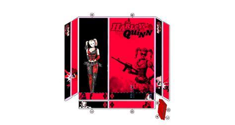 ps4 themes harley quinn harley quinn ps4 skin top vertical by douglasneto7 on