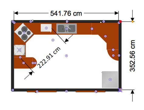 create floor plan with dimensions creating professional floor plan conceptdraw helpdesk