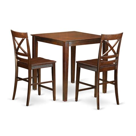 3 Pc Bar Stool Set by 3 Pc Dining Counter Height Set Counter Height Table And