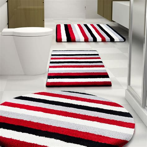striped bath rug striped bathroom rugs rugs ideas