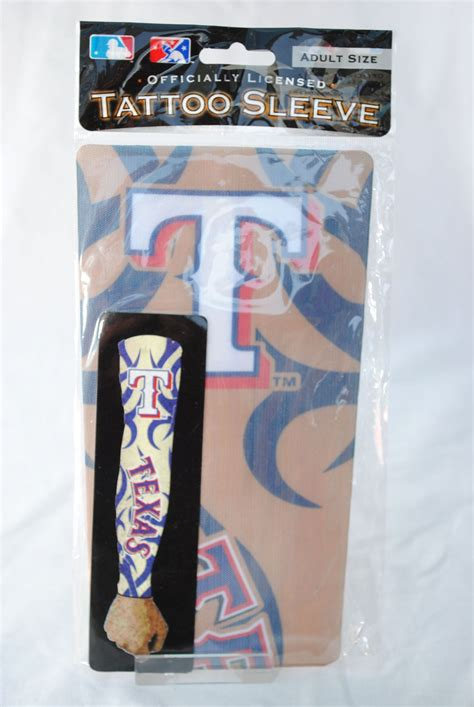 texas rangers tattoo rangers arm sleeve unisex size