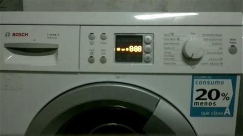 Bosch Waschmaschine Fehlercode Löschen by Reset Lavadora Bosch Siemens Esp Ing