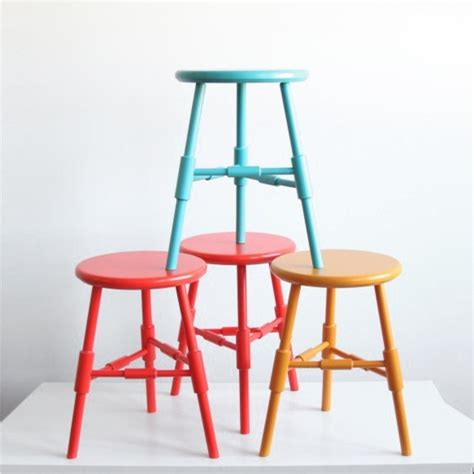 Table And Stools by O G Studio Atlantic Table Height Stool