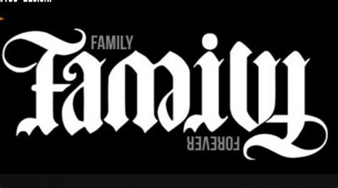 Family Tattoo Upside Down | jan 7th quot upside down quot family forever ambigram photo