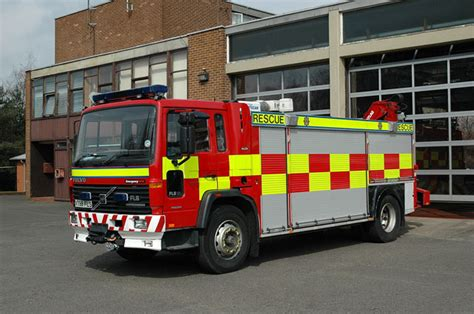 fire engines  central scotland rescue truck
