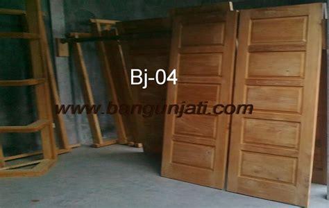 Pintu Panel Jati pintu kayu jati harga pintu kusen kayu jati blora