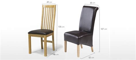 Dining Chair Size Cube Oak 90 Cm Dining Table And 4 Chairs Quercus Living