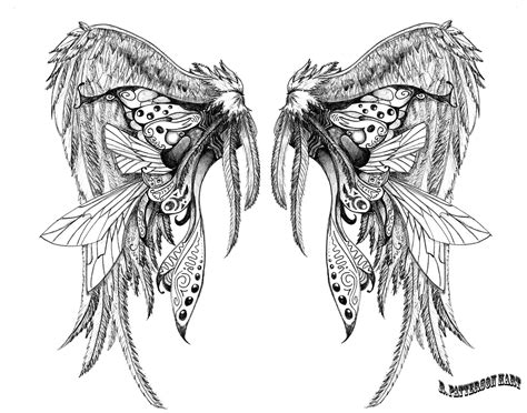 wings tattoo design 15 tattoos designs sleeves for design ideas
