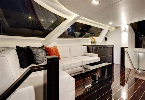 ultra modern mega yacht interior dubois 36m yacht bliss her design unlimited interior