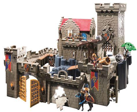 Amazon Com Playmobil Royal Lion Knight S Castle Set Toys