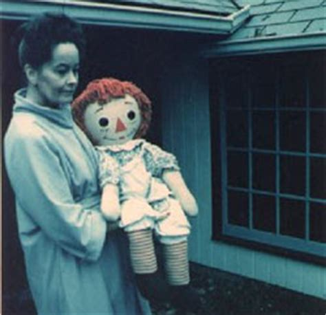 annabelle doll warrens occult museum position shadow hunters quot annabelle quot