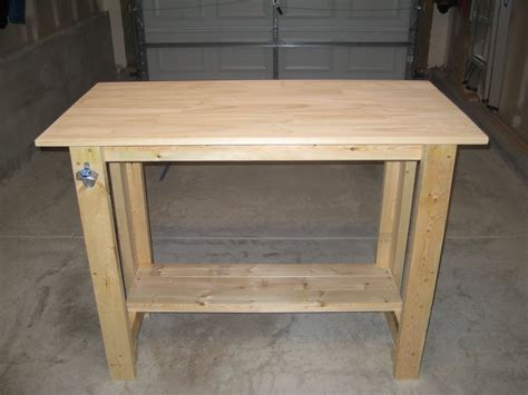 sturdy work bench ana white sturdy work bench first project completed