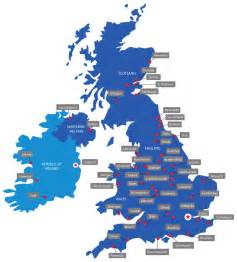 map of colleges in uk map