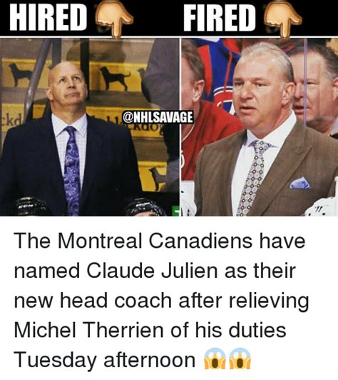 Montreal Canadians Memes - 25 best memes about michel therrien michel therrien memes