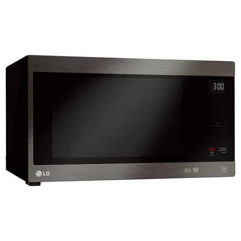 Microwave Lg Inverter lg 1 5 cu ft countertop microwave smart inverter black