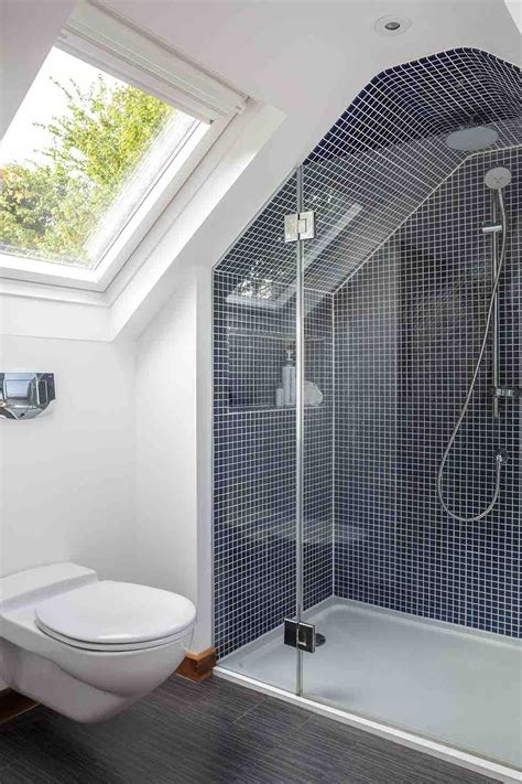 allexperts image slope plan bathroom inspiration bathroom alcoves and sloping roofs it s the little
