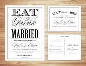 wedding invitation text the undomestic