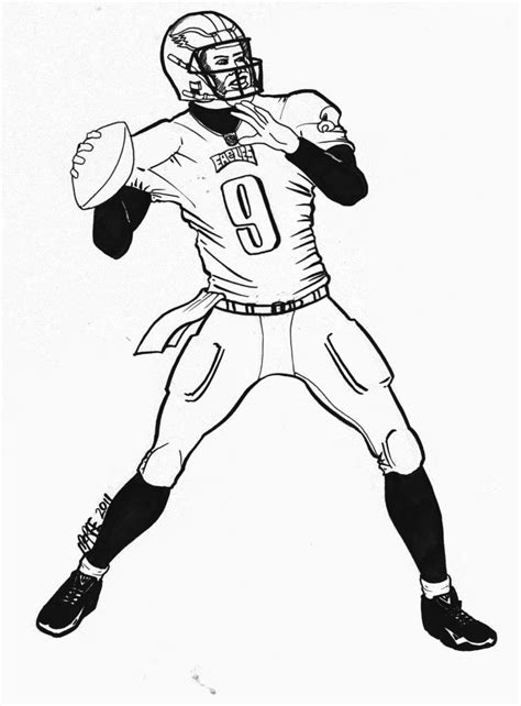 eagle football coloring pages free coloring pages of eagle football 11533