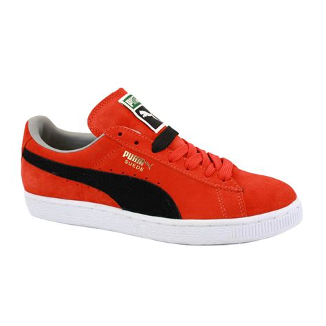 pumas shoes suede classic 352634 71 laced suede trainers