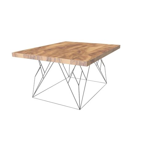 Wire Coffee Table Wire Coffee Table 3d Model Max Obj 3ds Fbx Cgtrader
