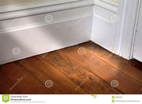 Floor L For Corner by Room Corner Stock Image Image Of White Wood Floorboards