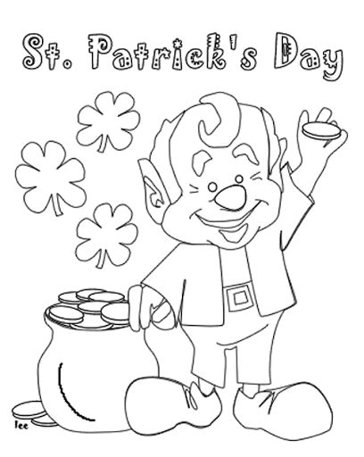 online coloring pages st patrick s day st patrick s day coloring pages and activities for kids