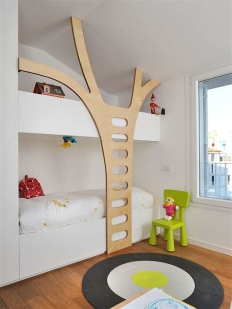 diy bunk bed ladder tree bunk bed ladder genius diy pinterest