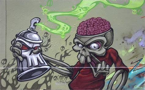 Imagenes De Calaveras Grafitis | cibercorresponsales calaveras a muerte graffitis