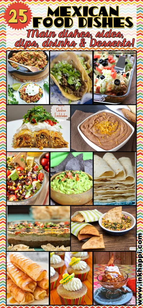 Mexican Main Dishes List - mexican food round up it s what s for dinner inkhappi