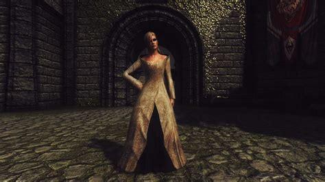 skyrim mod game freezes noble dress 日本語化対応 服 ローブ skyrim special edition mod