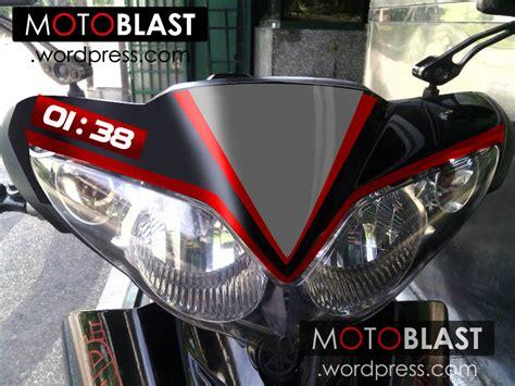 Lu Projie Untuk Jupiter Z modif jupiter z hitam striping ala aprilia rsv4 motoblast