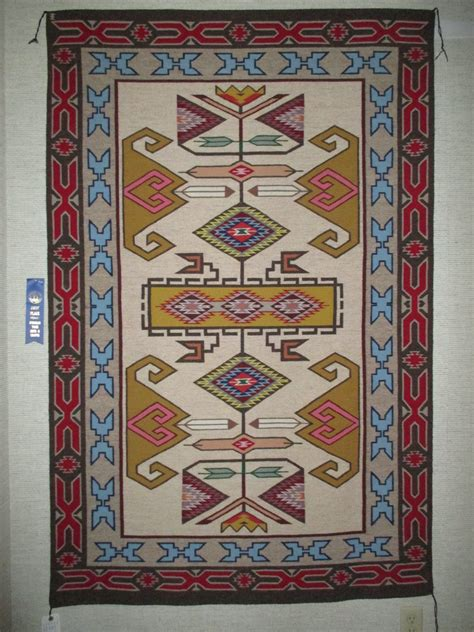 teec nos pos rugs teec nos pos rug 1996 prize winner by shirley tsinnie large size two grey
