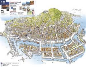 plan de la ville de s 232 te