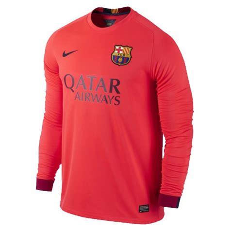 Jersey Barcelona Away 2014 fc barcelona sleeve away jersey 2014 15