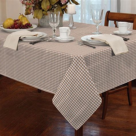 dining room tablecloth gingham check tablecloth dining room or kitchen table