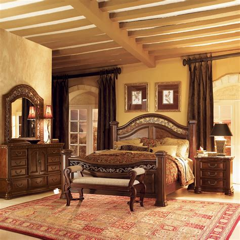 mansion bedroom furniture sets wynwood granada mansion bedroom set atg stores