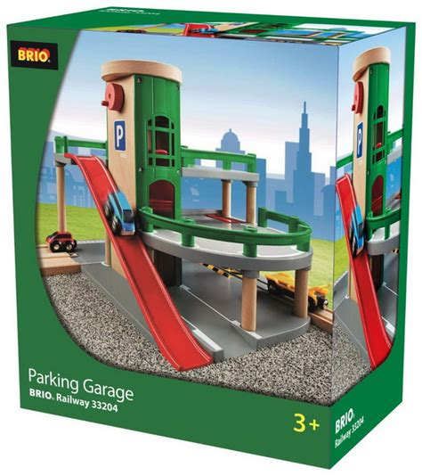 brio parking garage set review