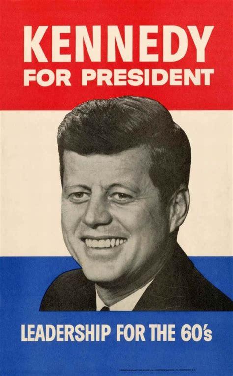 Jfk F Kennedy American President Usa Politics W Douglass 1960 f kennedy caign poster appeals to america