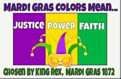 mardi gras colors meaning 1000 images about nola on new orleans