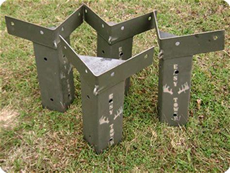 Window Blind Mounting Brackets - e z tower deer blind brackets