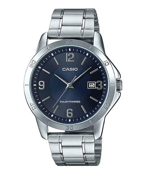 Jam Tangan Pria Casio Analog Mtp Vs02l 7a Original mtp vs02d 2a analog pria dress penunjuk waktu casio