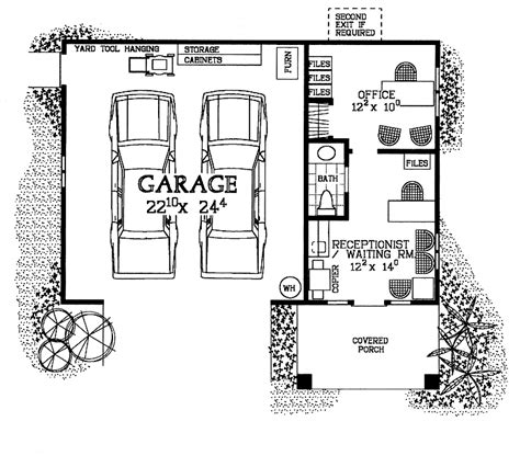 Two story garage plans with living quarters best garage design ideas