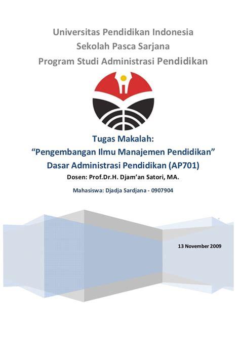 Manajemen Staffing 1 pengembangan ilmu manajemen pendidikan