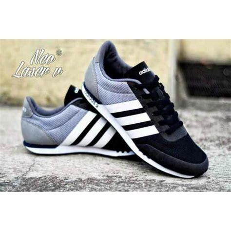 Adidas Neo Racer Black Murah sepatu adidas neo v racer black grey pesyen store
